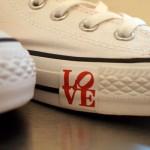 converse robert indiana love front 150x150 Robert Indiana x Converse Chuck Taylor Love Pack