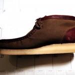 clarksbarbour1 150x150 Clarks x Barbour Fabrics Wallabee