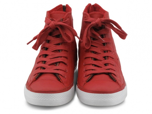 converse product red leather jacket chuck taylor 3 Converse (PRODUCT)RED Leather Jacket Chucks