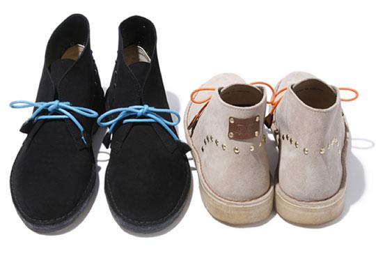 hobo clarks desert boots front hobo x Clarks Spring/Summer 2010 Desert Boot
