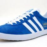 gazelle blue 1 150x150 Adidas Gazelle Blue/White