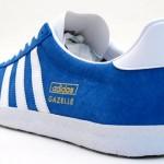 gazelle blue 2 150x150 Adidas Gazelle Blue/White