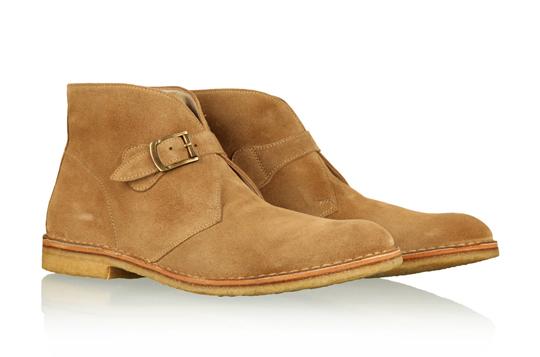 ymc sand monk desert boot 01 YMC Suede Monk Strap Desert Boots