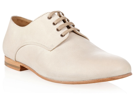 bstore mario oxford img1 B Store Cream Colored Mario Oxford