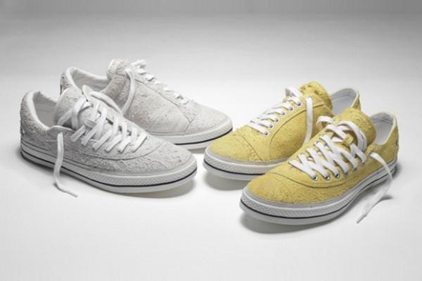 number nine converse 2010 spring footwear 600x399 Number (N)ine for Converse Chuck Taylors