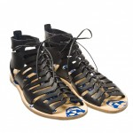 Alexander McQueen Leather Gladiator Sandal 01 150x150 Alexander McQueen Leather Gladiator Sandal