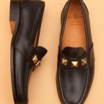 main 18298 brassloafer black 1 150x150 Yuketen Brass Studs Loafer