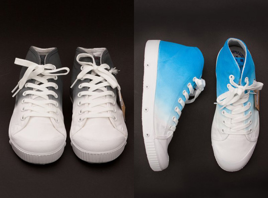 spring court for opening ceremony b2 sneaker front Spring Court x Opening Ceremony B2 Sneaker