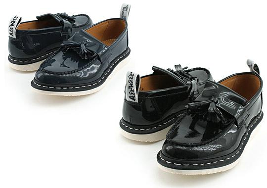 Ships Jet Blue x Dr. Martens Patent Tassle Loafers 01 Ships Jet Blue x Dr. Martens Patent Tassle Loafers
