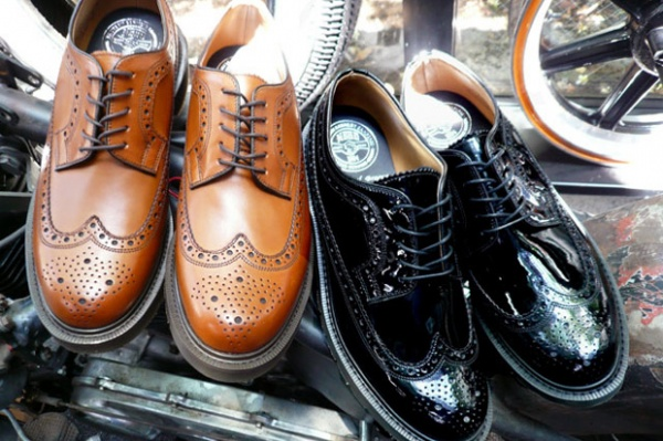 neighborhood loake wingtips NEIGHBORHOOD and Loake Wingtips