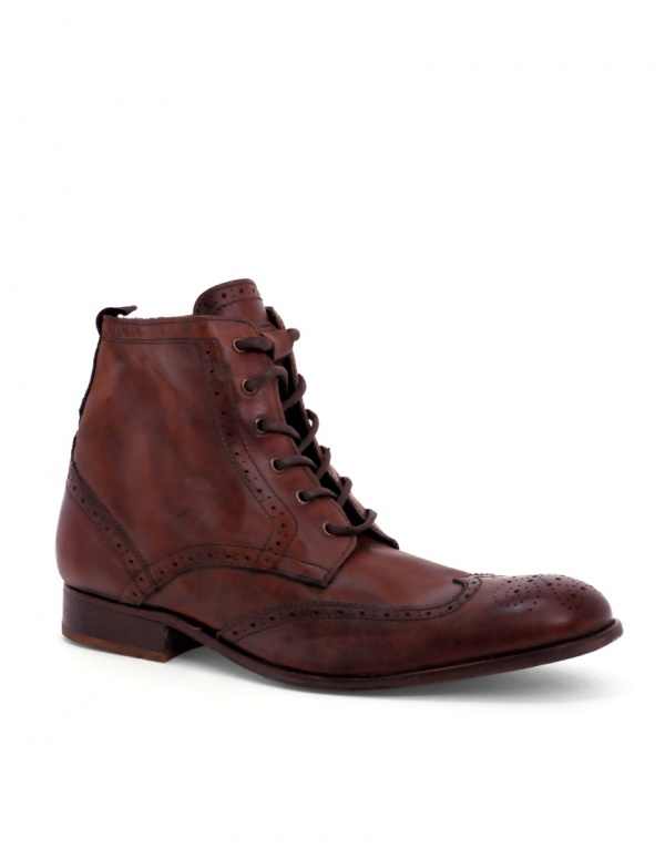Angus Brogue Boots by H by Hudson 01 Angus Brogue Boots by H by Hudson