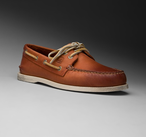 Sperry Top Sider A O in Burnished Leather 01 Sperry Top Sider A/O in Burnished Leather