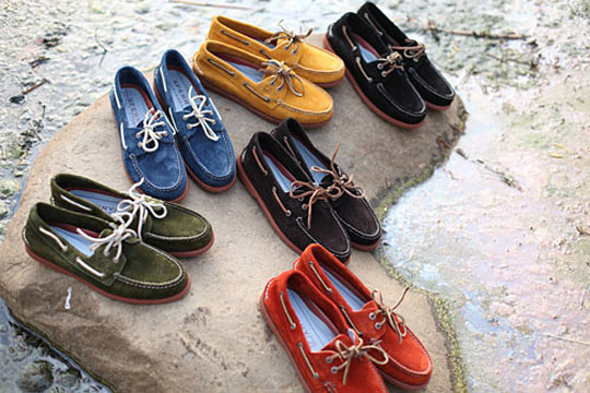 Sperry Top Sider Authentic Original 2 Eye Boat Shoe Fall 2010 01 Sperry Top Sider Authentic Original 2 Eye Boat Shoe Fall 2010