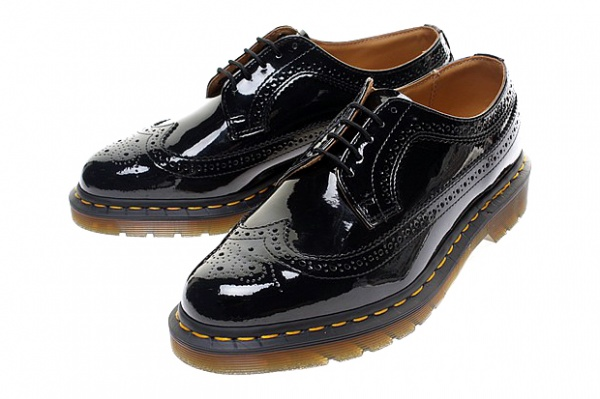 BEAMS Dr. Martens Patent Leather Wingtips BEAMS & Dr. Martens Patent Leather Wingtips