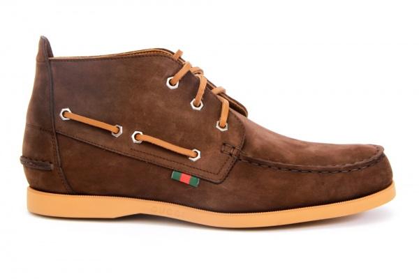 Gucci Fall 2010 Mid Boat Shoe1 Gucci Fall 2010 Mid Boat Shoe