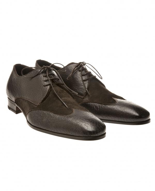 Lidfort Leather Suede Derbys 01 Lidfort Leather & Suede Derbys
