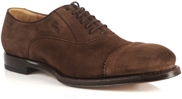 Gucci Suede Cap Toe Oxford 1 Gucci Suede Cap Toe Oxford