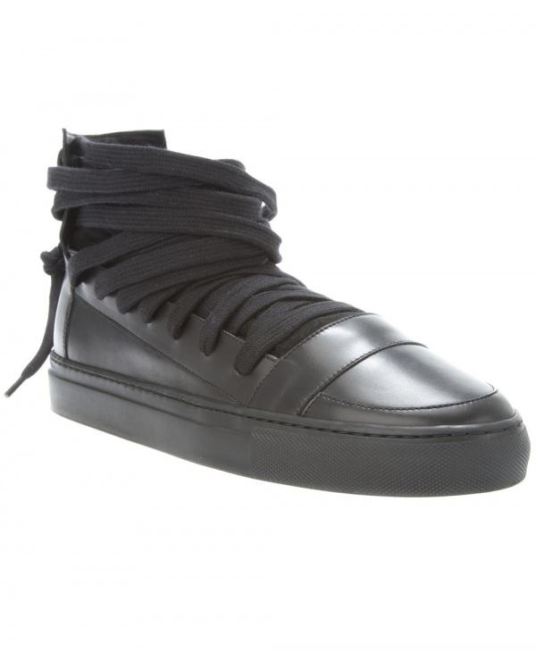 Kris Van Assche Lace Mouth Sneaker 1 Kris Van Assche Lace Mouth Sneaker