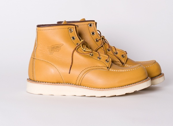 Red Wing Shoes Classic Moc Toe Boot in Maize Mustang 01 Red Wing Shoes Classic Moc Toe Boot in Maize Mustang