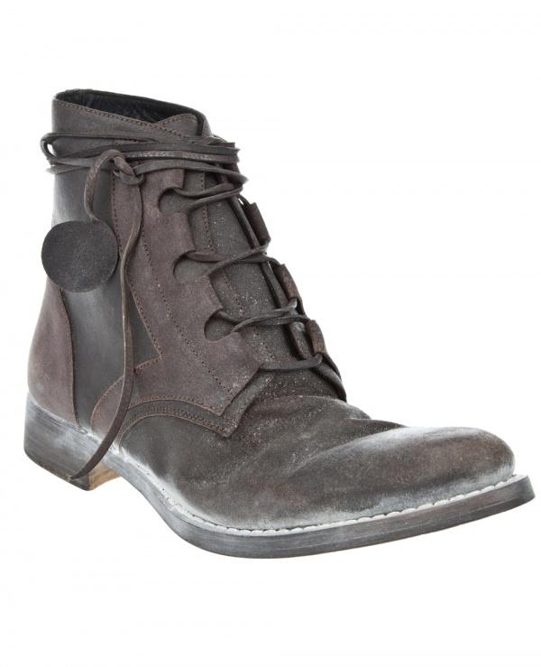 Ryusaku Hiruma Powdered Ankle Boot 1 Ryusaku Hiruma Powdered Ankle Boot