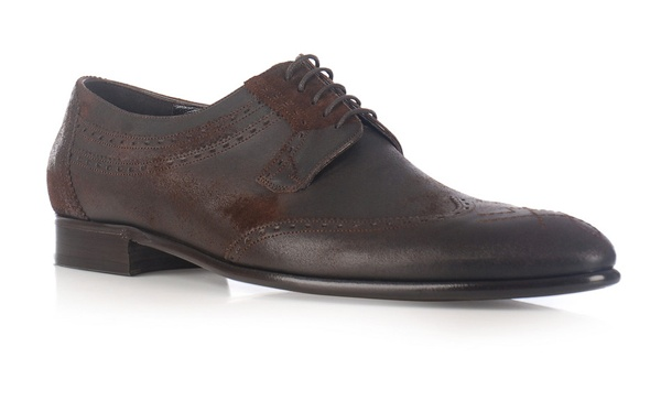 Dolce Gabbana Distressed Leather Brogues 1 Dolce & Gabbana Distressed Leather Brogues