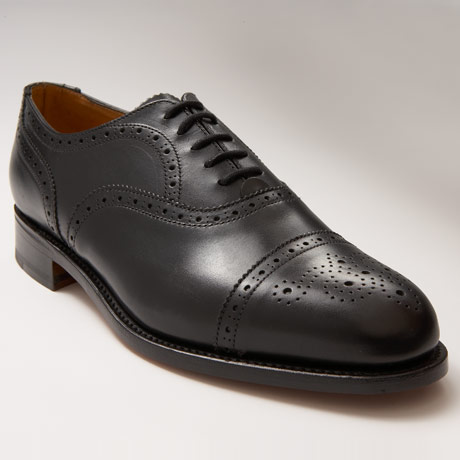 J. Press Punched Cap Oxford Shoe 1 J. Press Punched Cap Oxford Shoe