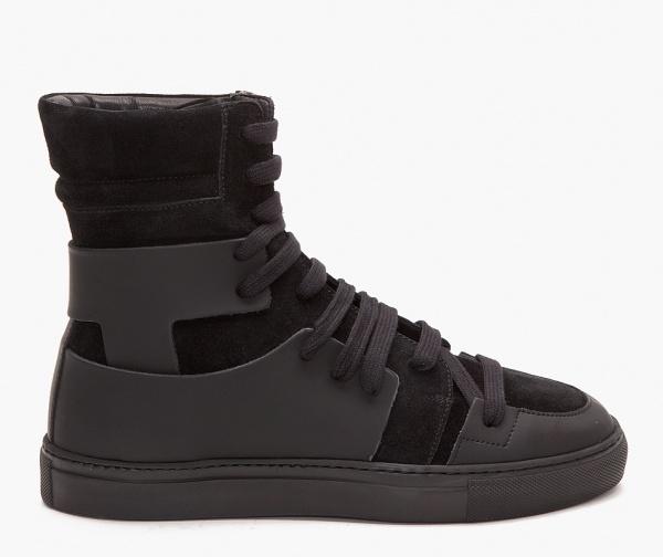 Kris Van Assche Black Suede Sneakers 1 Kris Van Assche Black Suede Sneakers