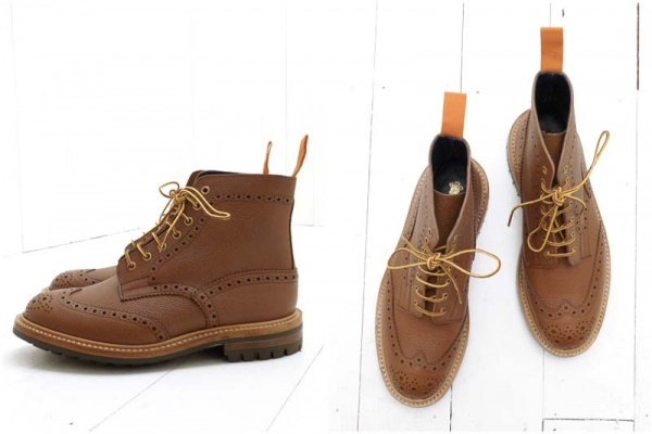 Trickers The Bureau Brogue Boot 3 Trickers & The Bureau Brogue Boot