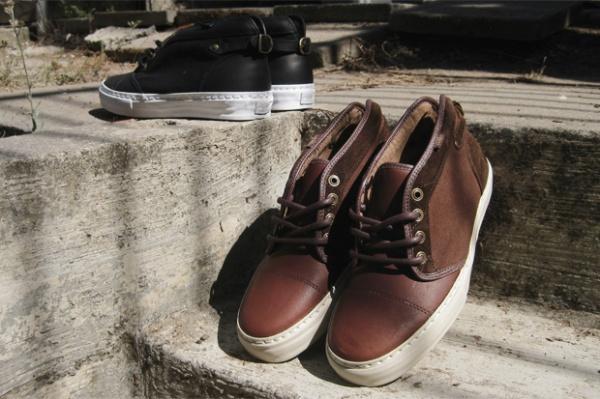 Vans Vault Leather Chukka Buckleback LX 1