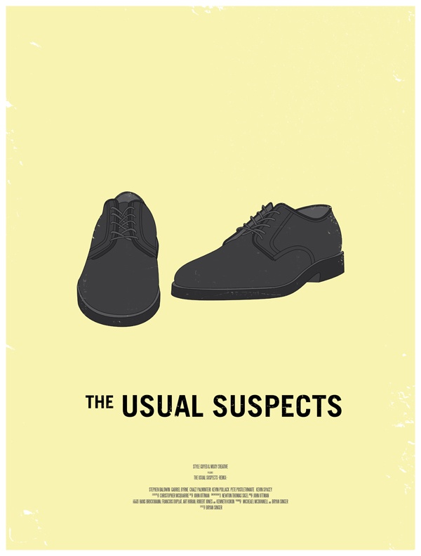 the usual suspects movie poster dress the part 10 Movie Posters Inspired by Mens Style (EveryGuyed)