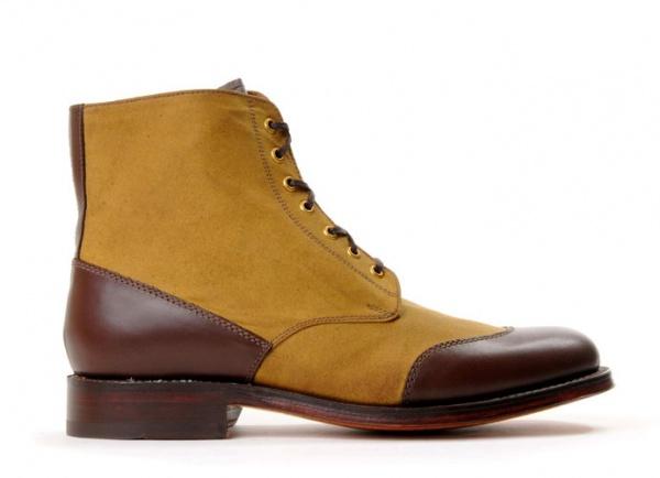 Grenson Tan Glenn Boots 1