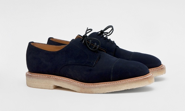 Mark McNairy Cap Toe Gibson Shoe in Navy 1