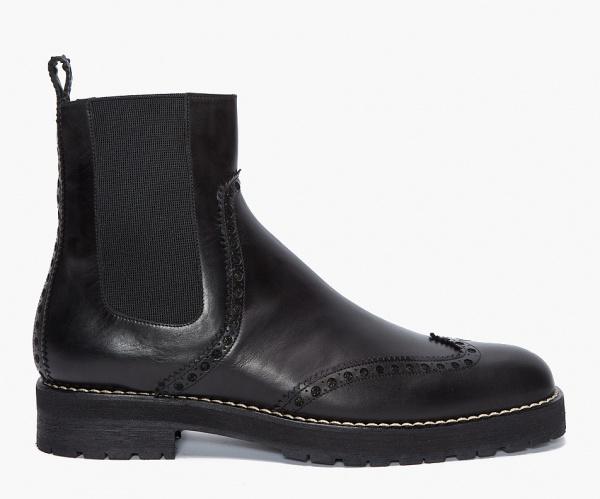Viktor Rolf Black Brogue Boots 1 Viktor & Rolf Black Brogue Boots