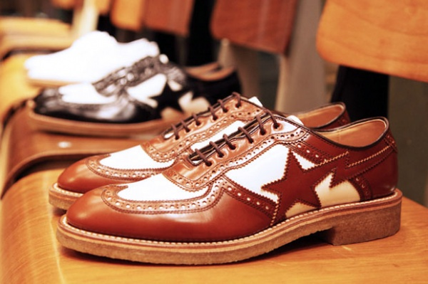 Mr. Bathing Ape Spring Summer 2011 Brogue Preview Mr. Bathing Ape Spring / Summer 2011 Brogue Preview