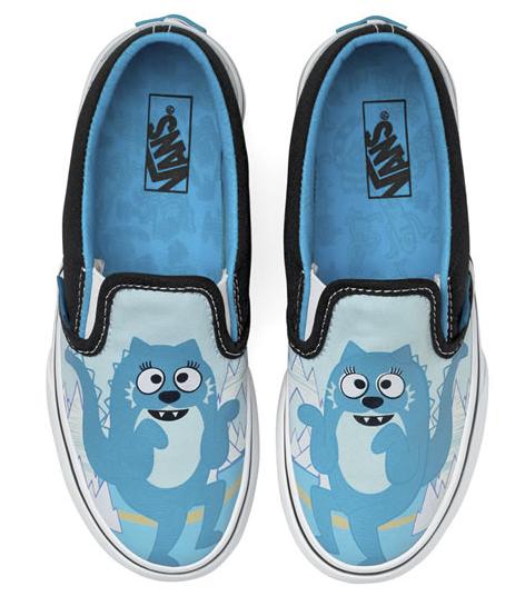 Vans Kids Yo Gabba Gabba Shoes Green/Brobee - Polyvore