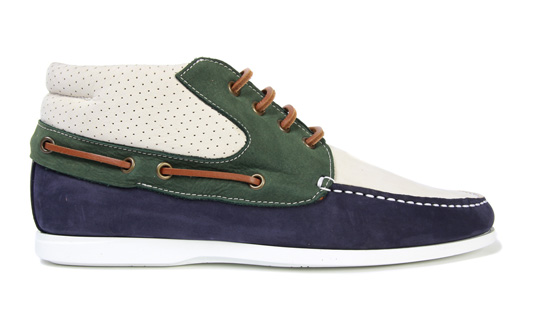 trussardi 1911 boat mid shoes spring summer 2011 Trussardi 1911 Boat Mid Shoe Spring/Summer 2011