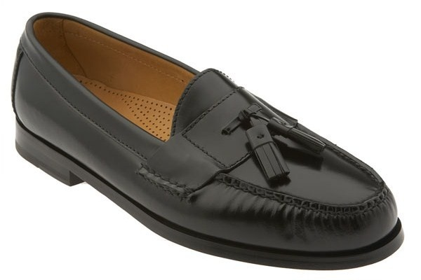 white tassel loafers. Haan Pinch Tassel Loafer