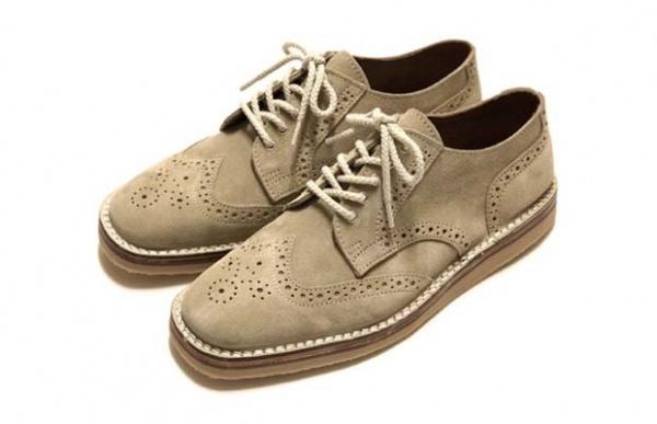 McKinlay Suede Brogue Shoe 1 McKinlay Suede Brogue Shoe