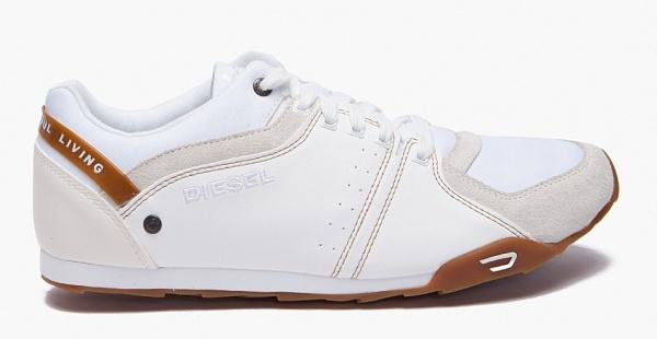 Diesel Loterm Sneaker White Diesel Loterm Sneaker in White
