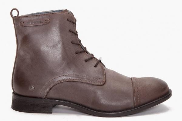 Ботинки мужские зимние бежевые