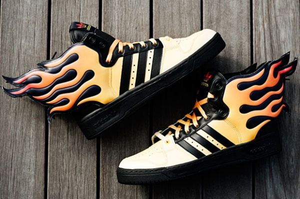 Jeremy Scott x adidas Originals by Originals JS Flames Jeremy Scott x adidas Originals by Originals JS Flames