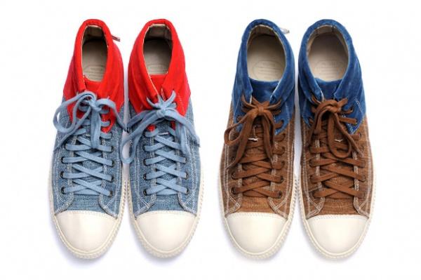 Visvim 2-Tone Gabo Hi Sneakers