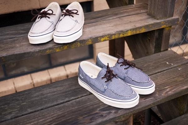 vans california zapato del barco pinstripe 1 Vans California Zapato Del Barco Pinstripe