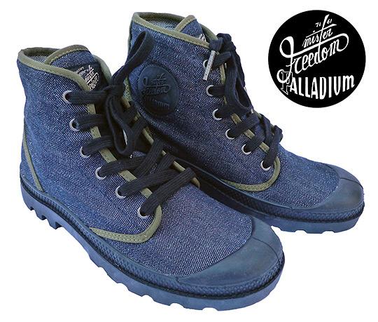 Mister Freedom x Palladium Palladenim Boots Mister Freedom x Palladium Palladenim Boots