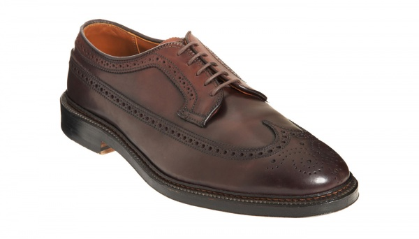 Alden Perforated Wingtip Blucher Alden Perforated Wingtip Blucher