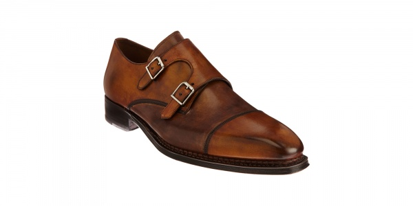 Harris Double Monk Shoe