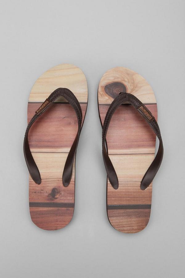 Toddland Wood Plank Flip Flop Toddland Wood Plank Flip Flop
