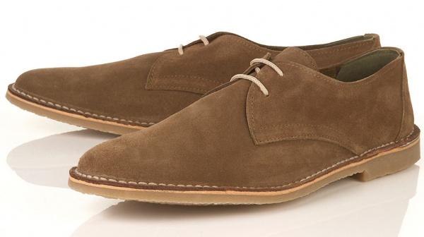 Topman Colorado Suede Desert Shoe Topman Colorado Suede Desert Shoe