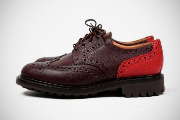 "Union Mark McNairy New Amsterdam Country Mix Brogue Union & Mark McNairy New Amsterdam Country ""Mix"" Brogue"