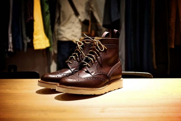 mark mcnairy x acl co brogue boot Mark McNairy x ACL & Co. Brogue Boot